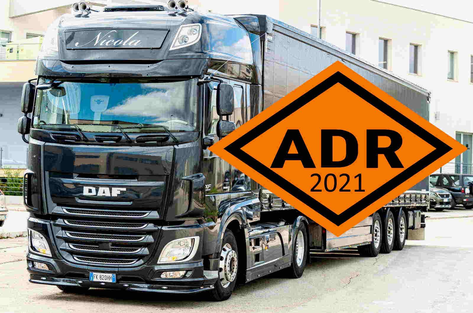 Adeguamento alla Normativa ADR 2021